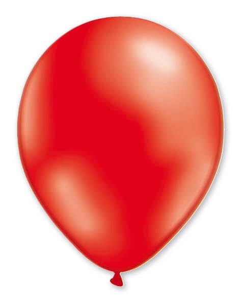 Balloon Metallic 13cm Red x1000