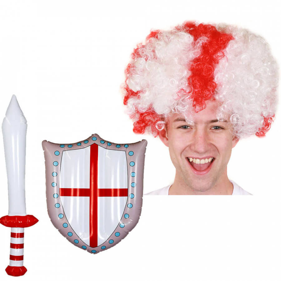 3 Piece England Supporter Set