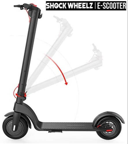 Shock Wheelz Collapsible Scooter