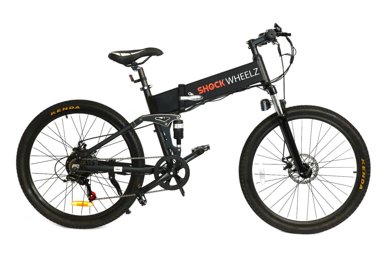 Shock Wheelz™ Electric Bike - Black E-Bike
