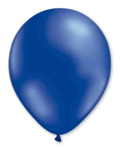 Balloon Metallic 13cm Blue x1000