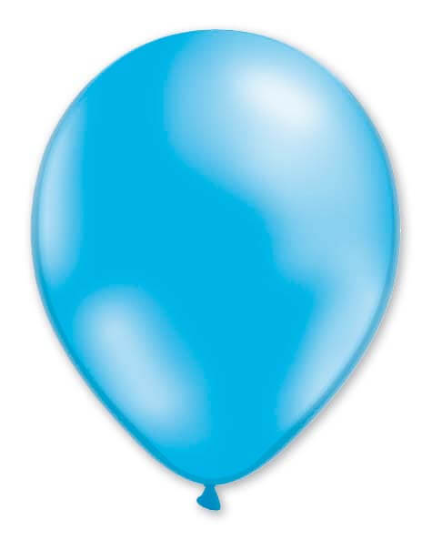 Balloon Metallic 13cm Blue Sky x1000