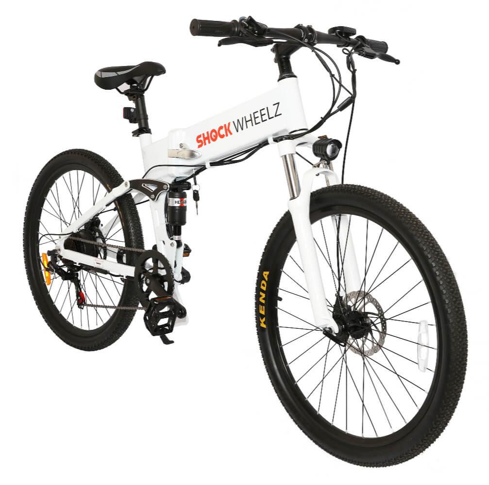 Shock Wheelz White Bike 3