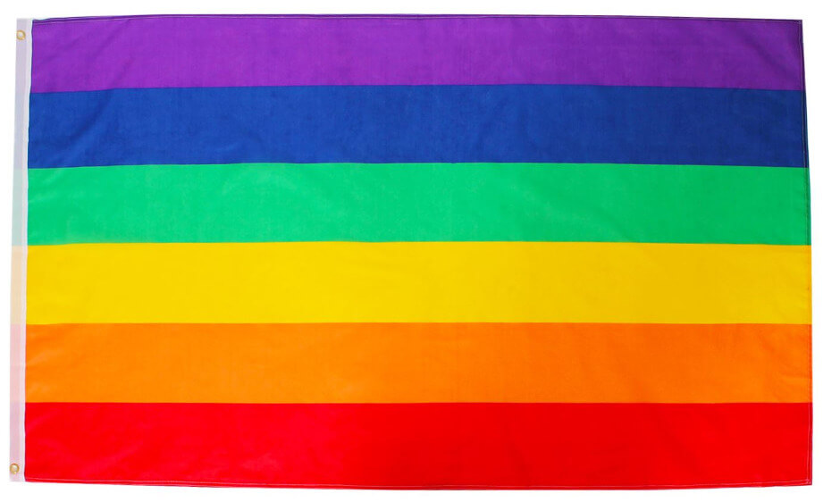 Rainbow Flag - 5ft x 3ft