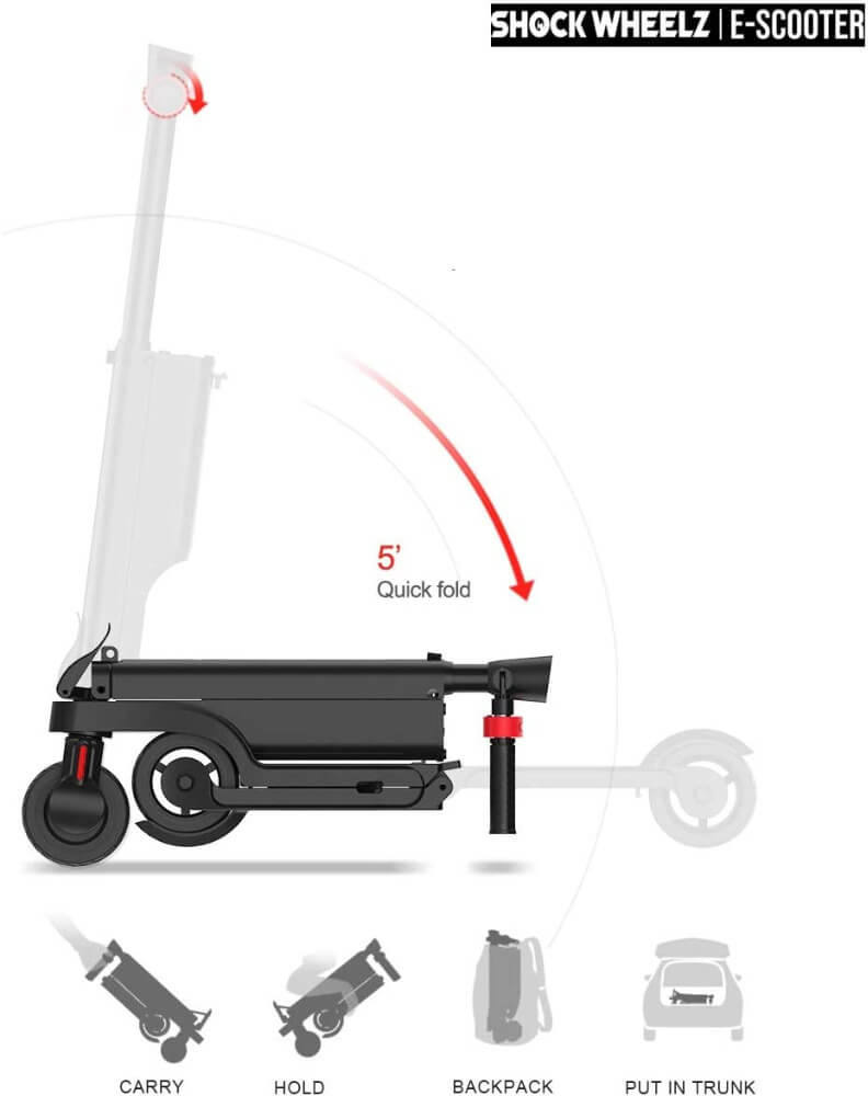 Shock Wheelz Quick Fold