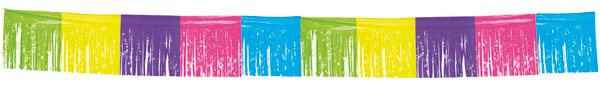 Banner Fringe 10m Asstd Colours