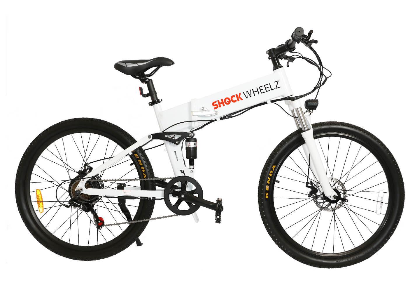 Shock Wheelz White Bike 2