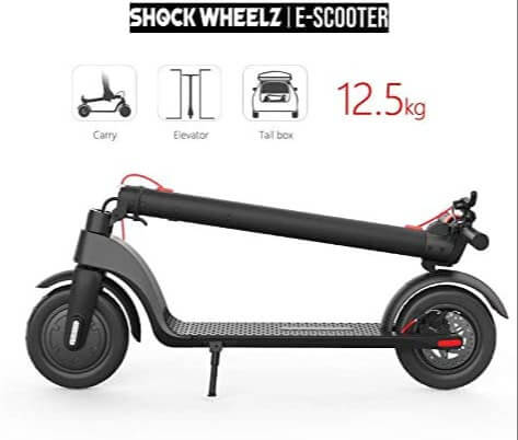 Shock Wheelz Weight and Compactibility